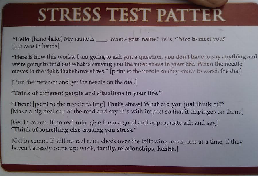 answers single thread stress test