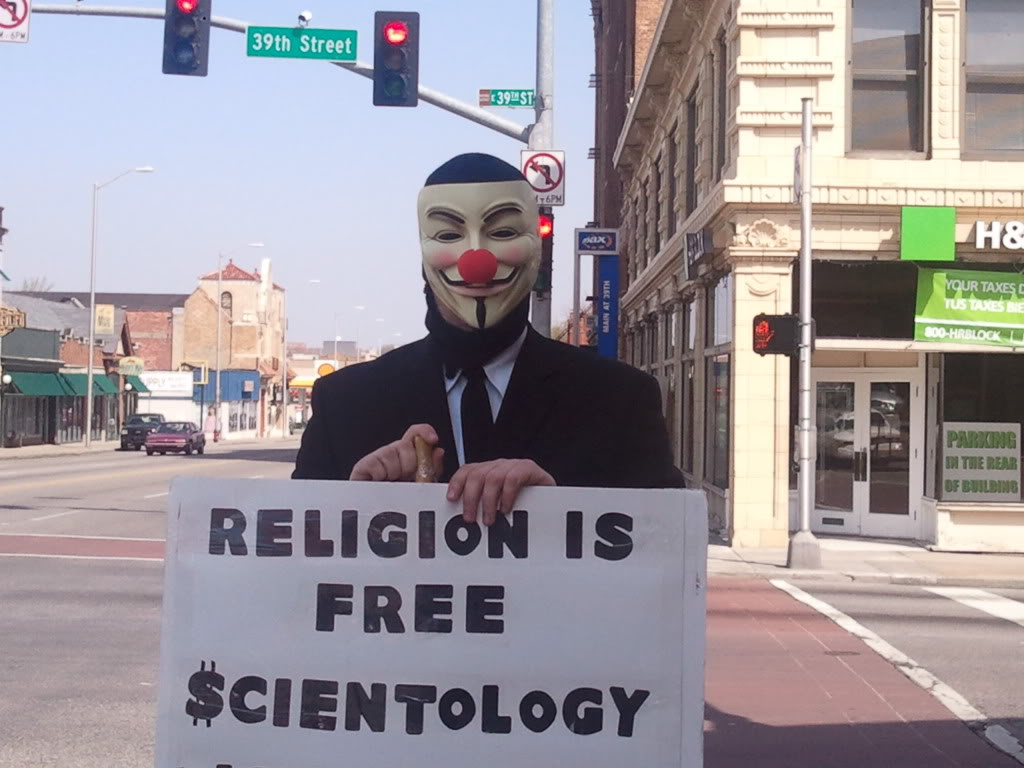 Kansas City Anti Scientology Protest 9 April 2011 Why We Protest