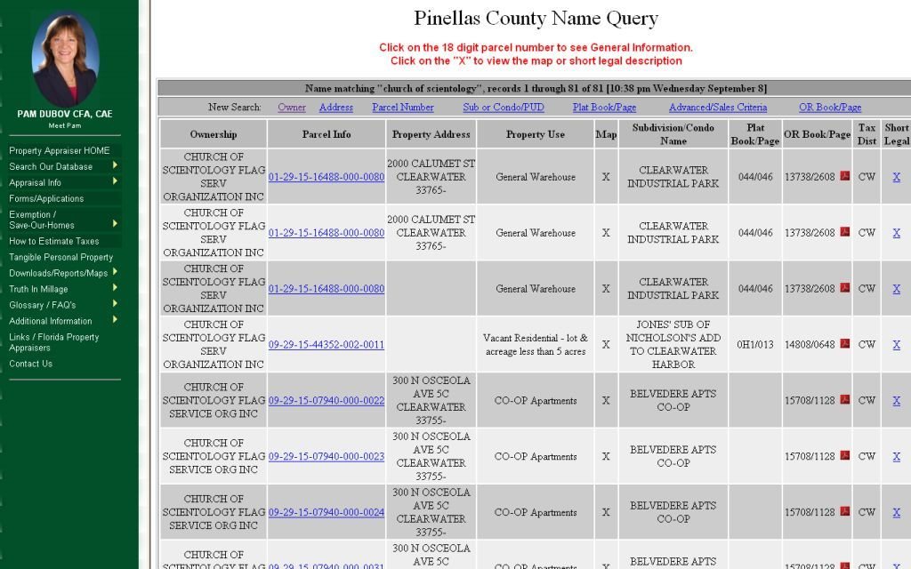 Pinellas County Property Tax Exemptions