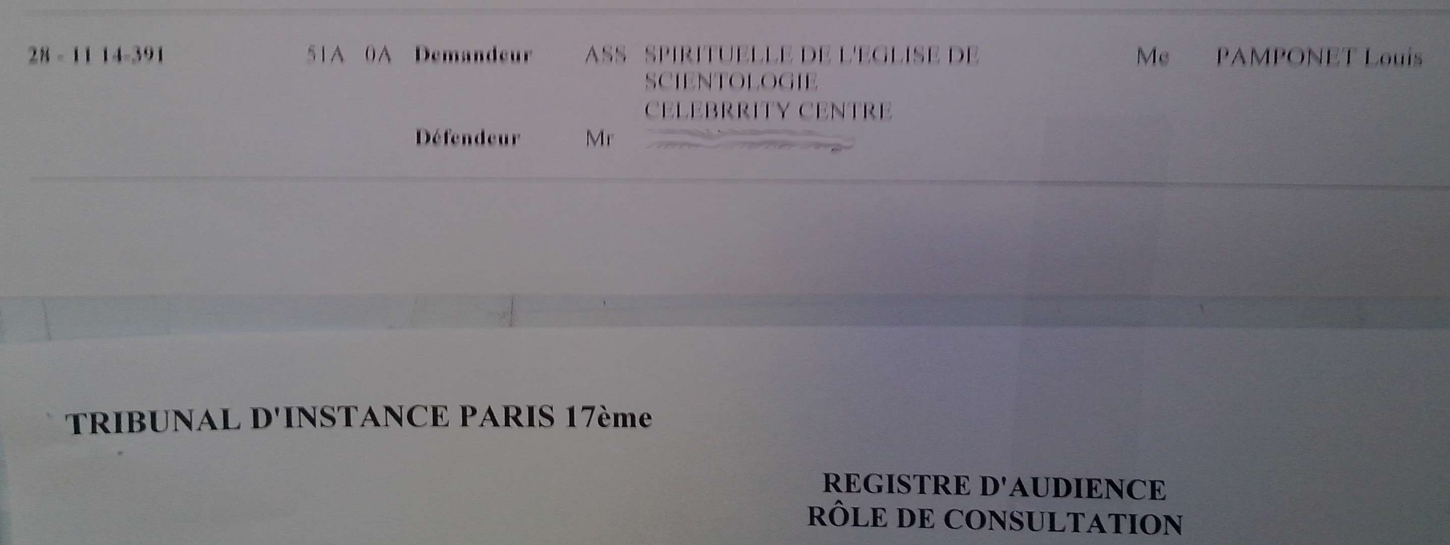 Scientologie religion humaine why we protest - Tribunal d instance salon de provence ...