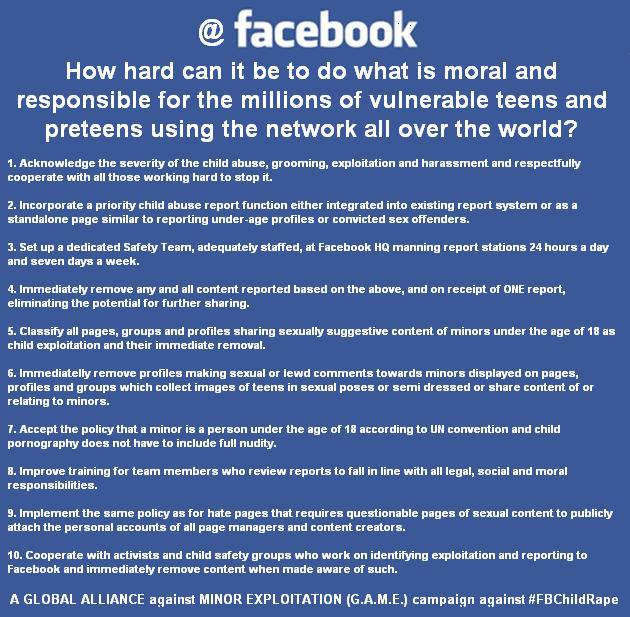 Lets give Facebook a hand, ok? | Why We Protest | Anonymous