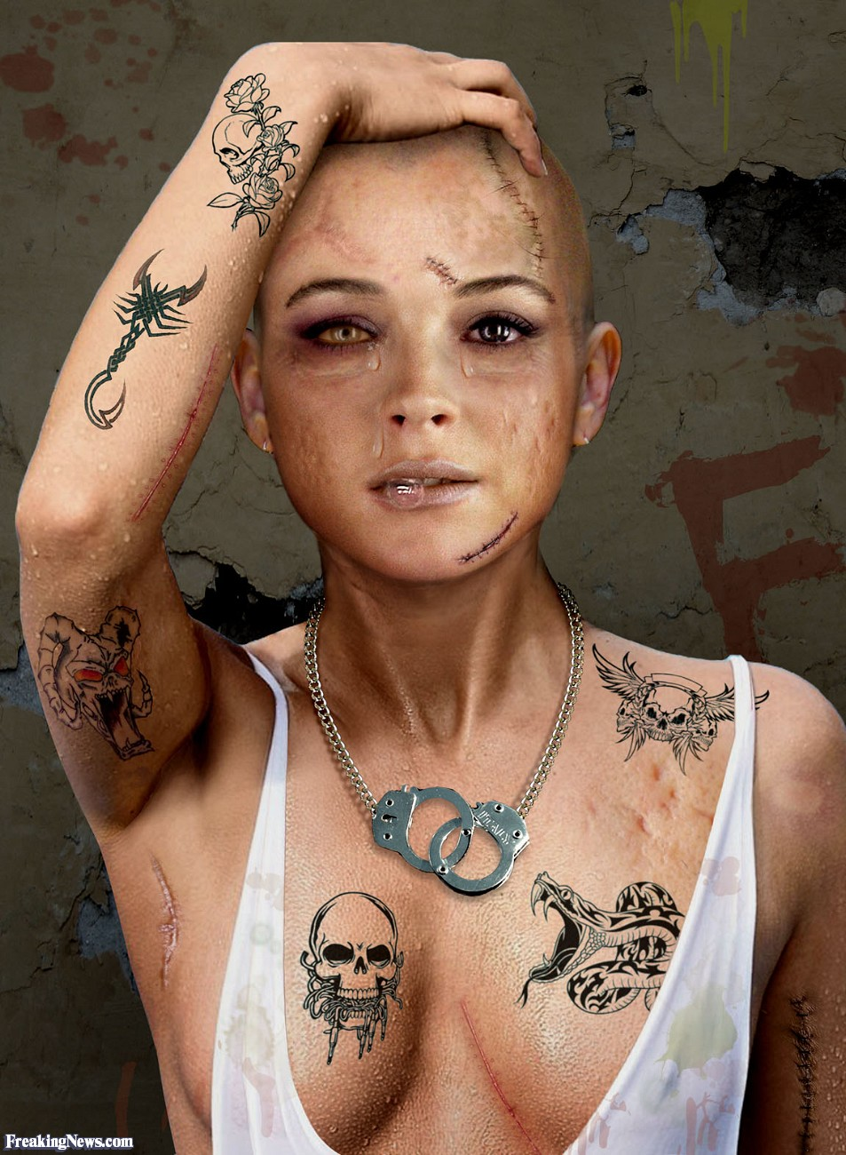 Тюремные тату женщины фото