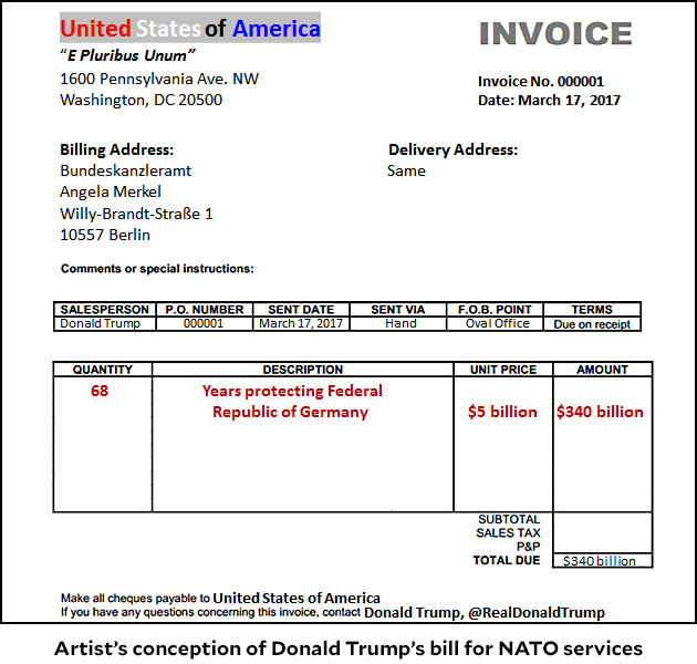How Do Read Receipts Work Word The Smoking Gun Trump The Least Charitable Billionaire  Page   Image Of A Receipt Pdf with Invoice Vs Sticker Price Blogtrumpmerkelbilljpg Pay Invoice Ebay Pdf