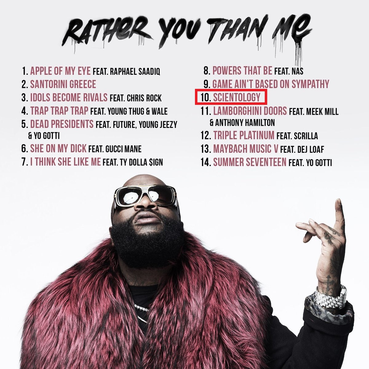 Upcoming album by rap artist Rick Ross features song, \