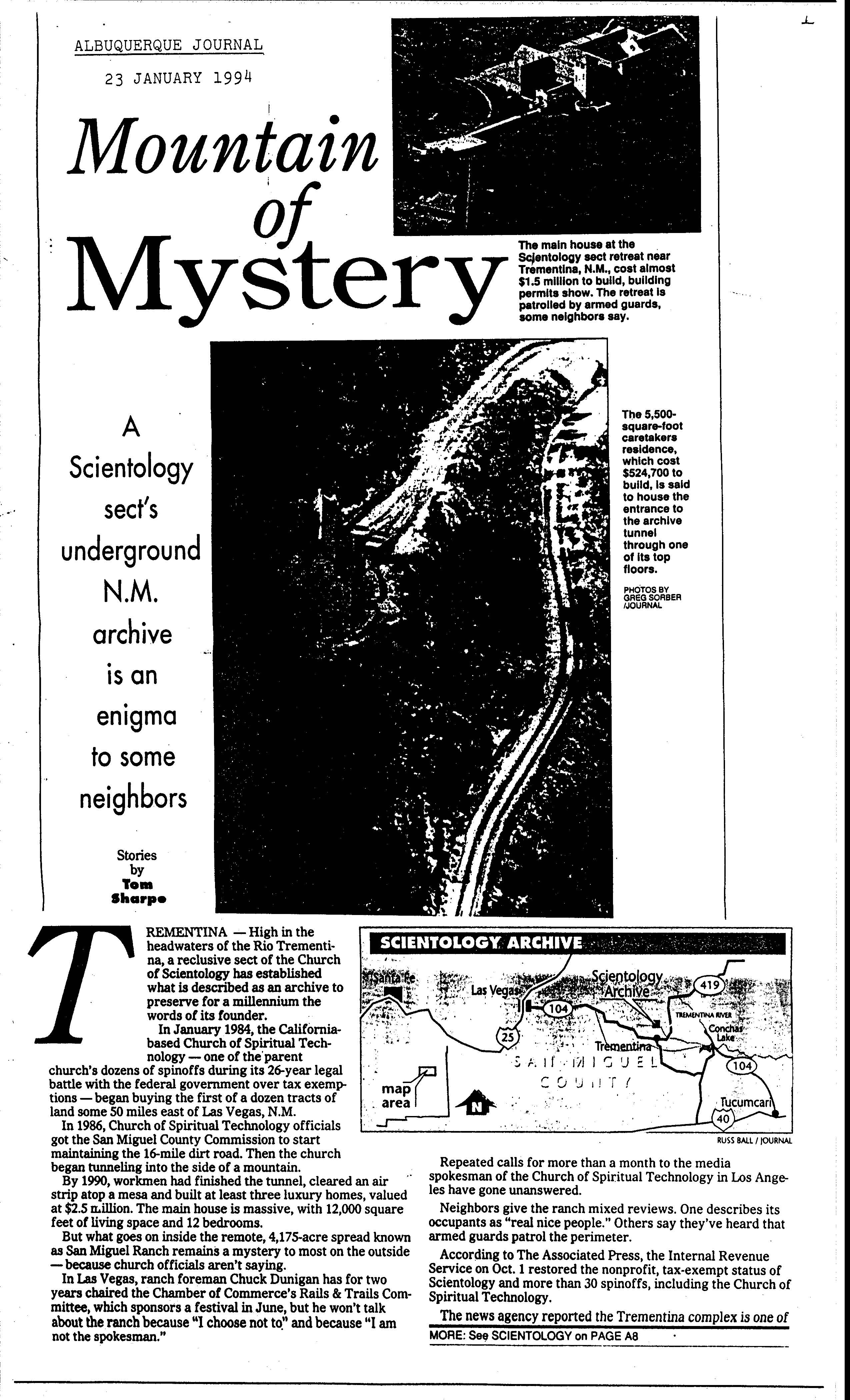mountain mystery 1