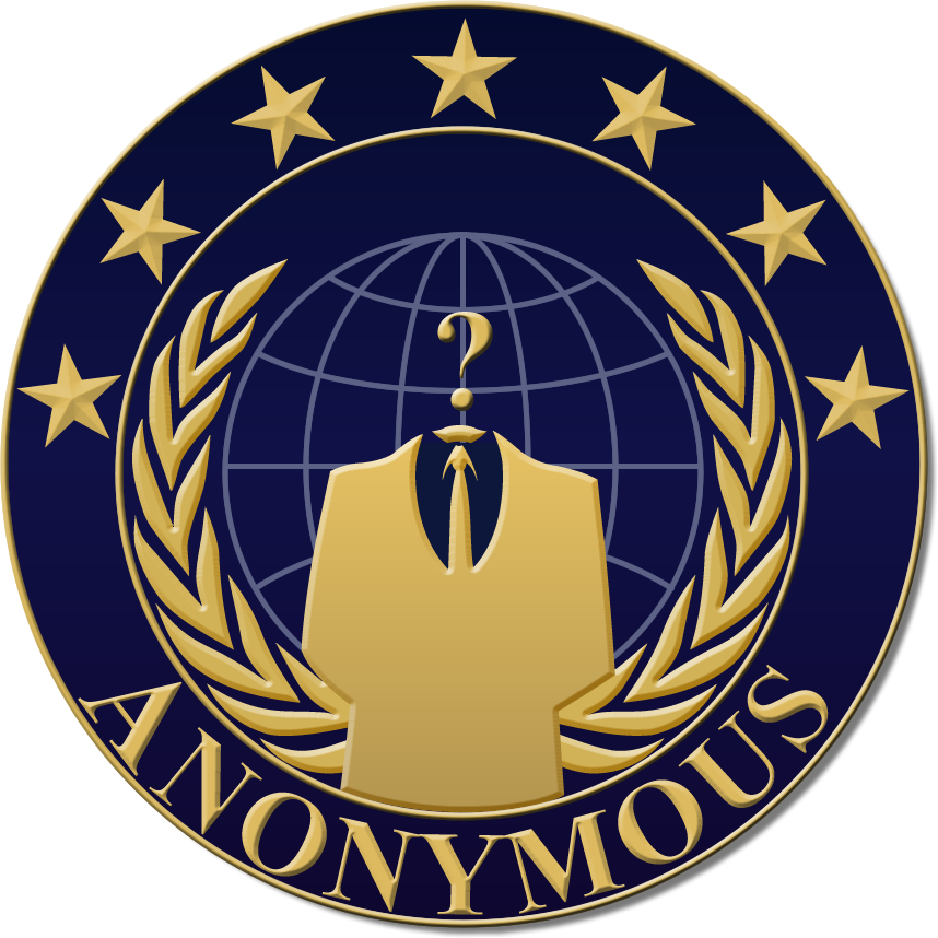 Wanted: Source on Blue/Gold Anon Logo | Why We Protest ...