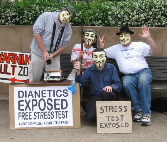 Basic Training For Protesting Scientology Why We Protest