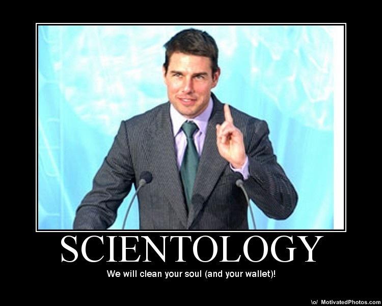 Atheist vs scientologist celebrity
